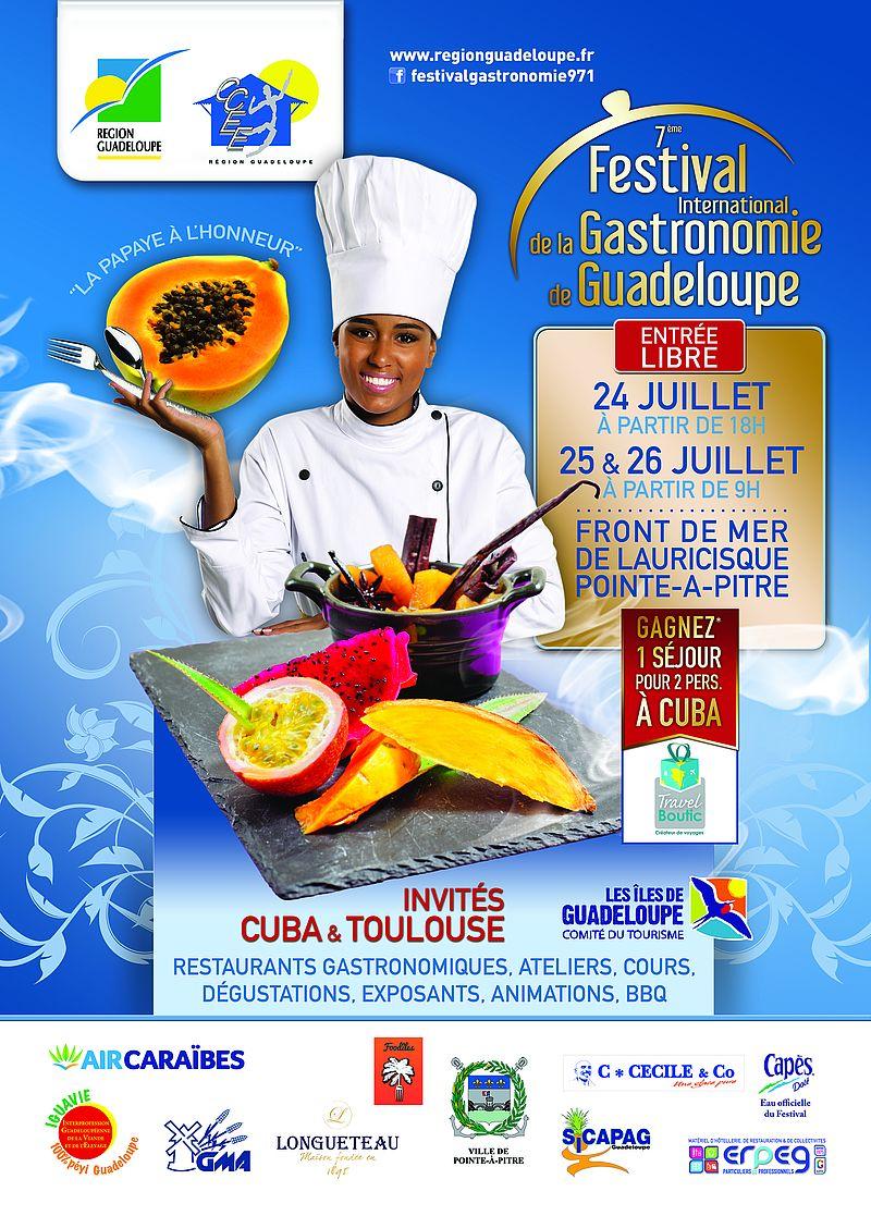 R gion guadeloupe 7e dition du festival international de la gastronomie de guadeloupe - Cours de cuisine en guadeloupe ...