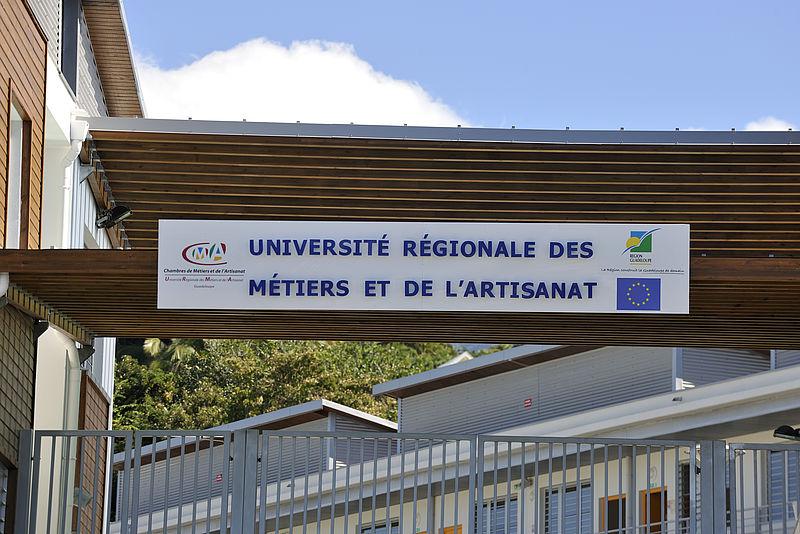Rgion GuadeloupeLUniversit Des Mtiers DArtisanat De La