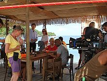 Tournage de la serie Death In Paradise