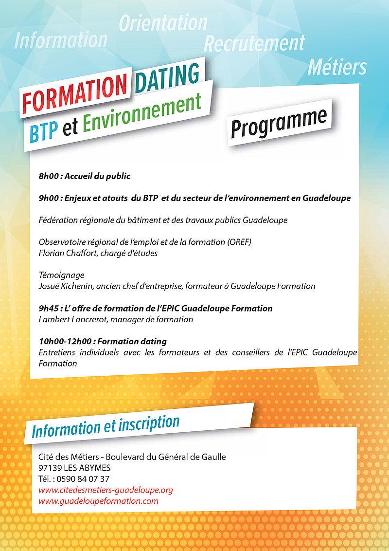 f0974f50687 Région Guadeloupe-« Formation dating » sur le BTP avec Guadeloupe ...